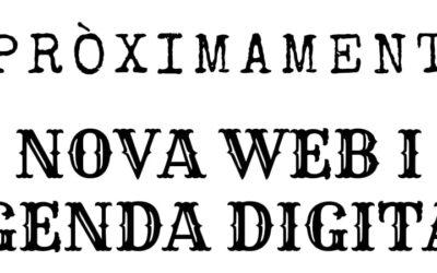 Estrenem nova web i agenda digital